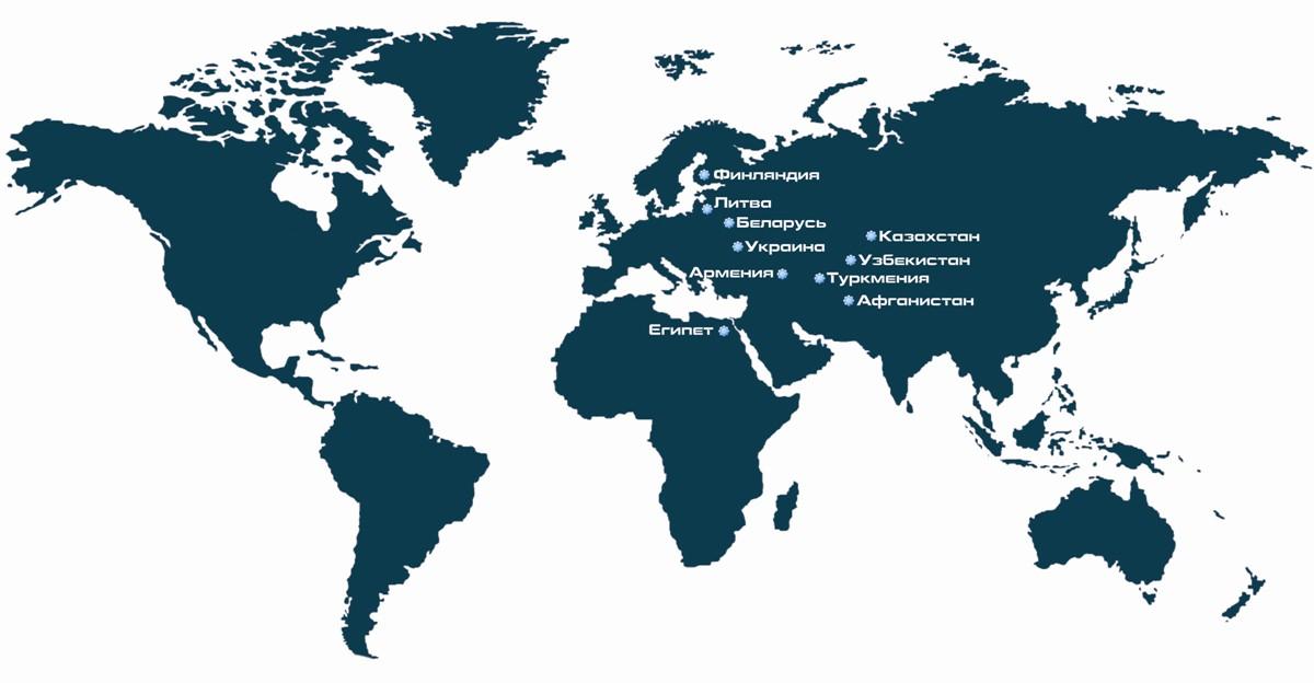 ЯЗТО-Авто: география экспорта